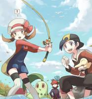 Landed a Pokemon! by KIRU75