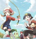 Landed a Pokemon!