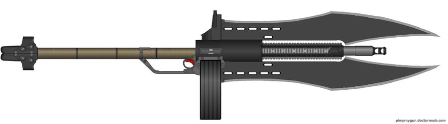 Gun halberd by Robbe25 on DeviantArt