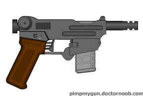 Basilisk handgun by Robbe25