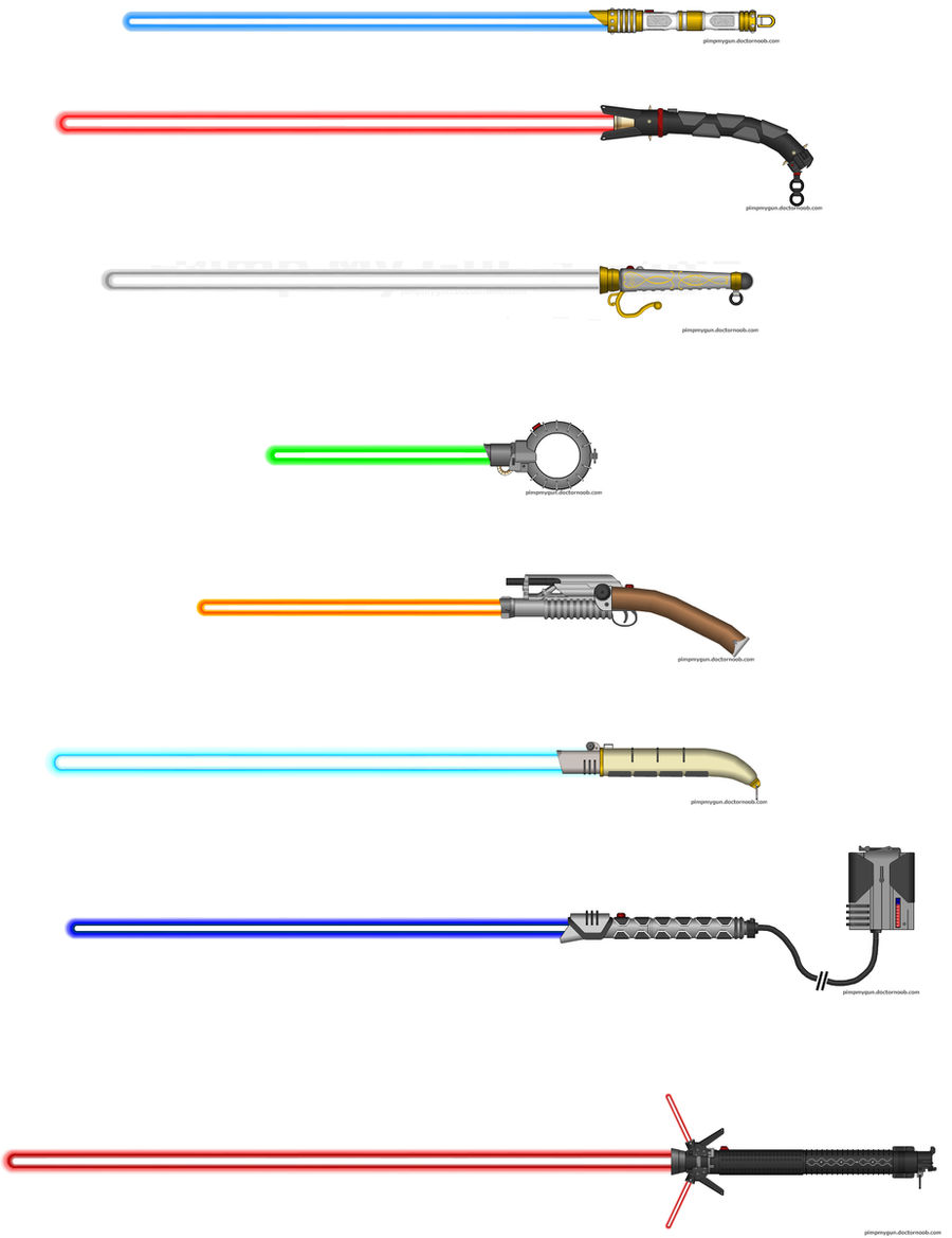Lightsaber collection II