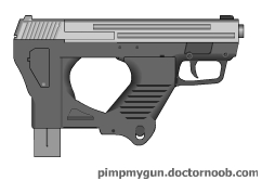 Kusanagi handgun by Robbe25