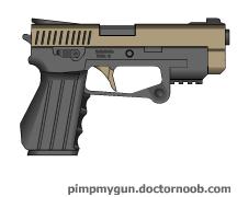 Hadrian Handgun by Robbe25