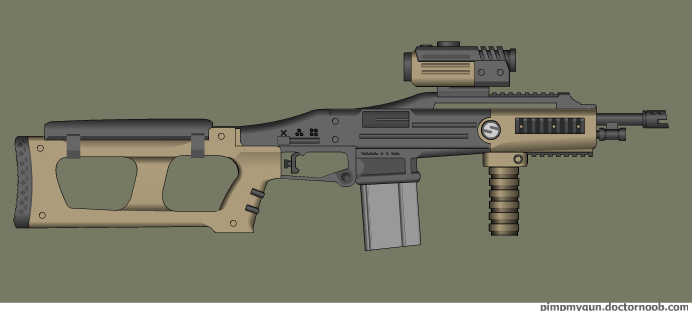 SPW Operator Chaplain assault carbine by Robbe25