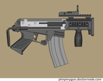 Beasty micro AR by Robbe25