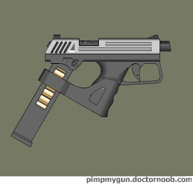 Gedah handgun by Robbe25
