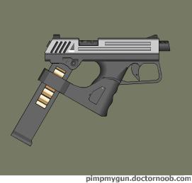 Gedah handgun by Robbe25