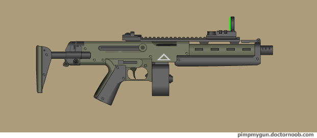 Arun heavy SMG by Robbe25