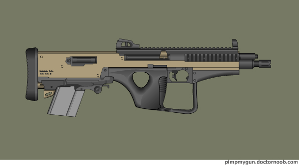 Potho carbine by Robbe25