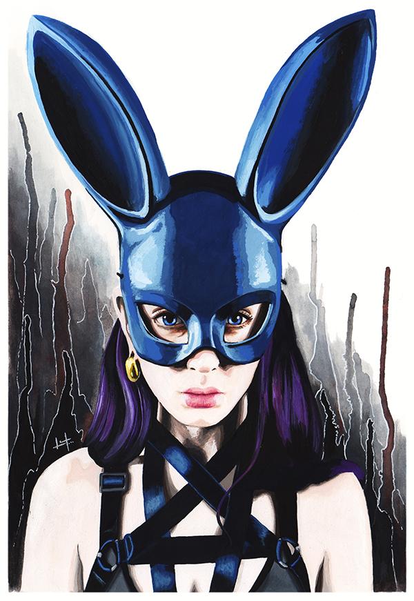 Blue Bunny by thatljtaylor