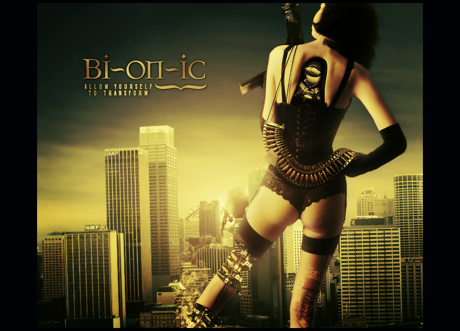 Bionic, take it supersonic by Cl0ud-Nine