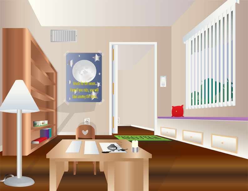 Ideal study room by zara2148 on deviantart for Ideal home study room