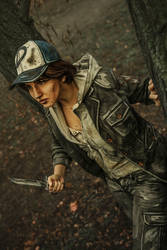 Clementine Cosplay - The Walking Dead by MaryMustang01