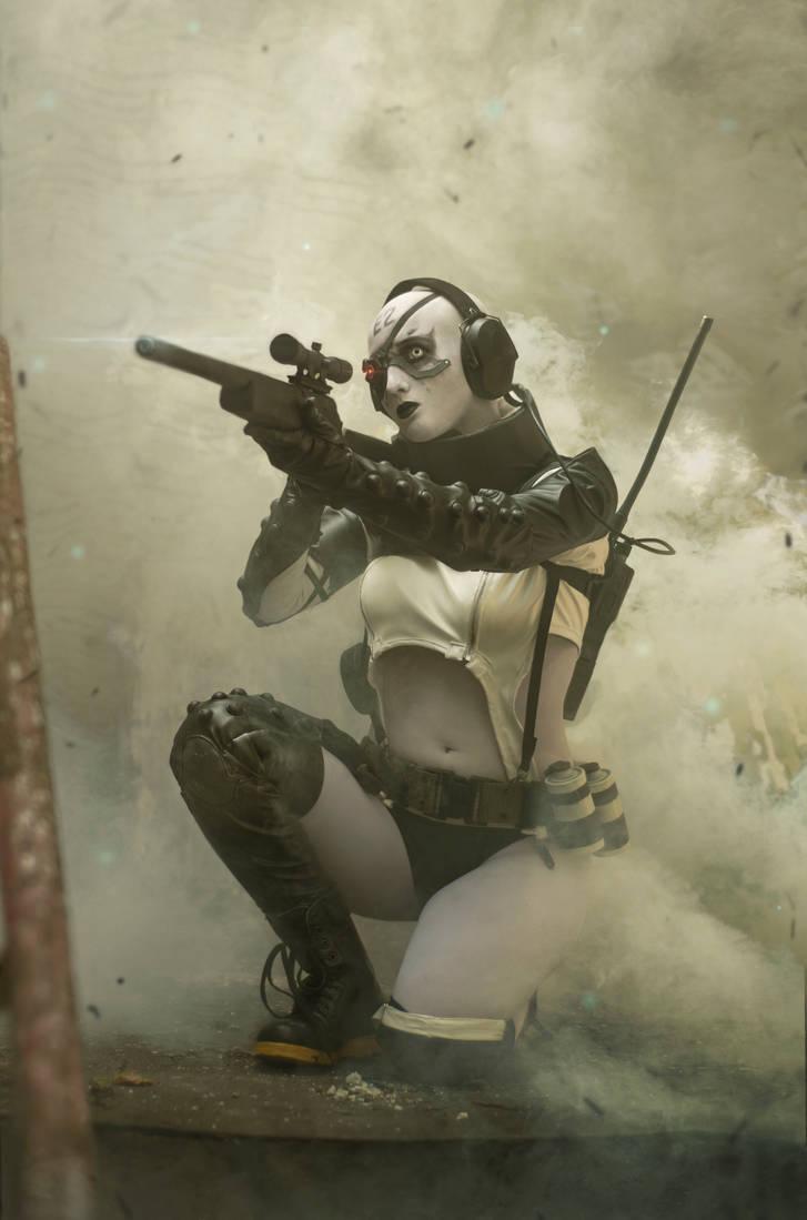 Sniper Skull Cosplay - MGS:V by MaryMustang01