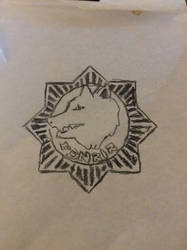 Fenrir tattoo by doomqwer