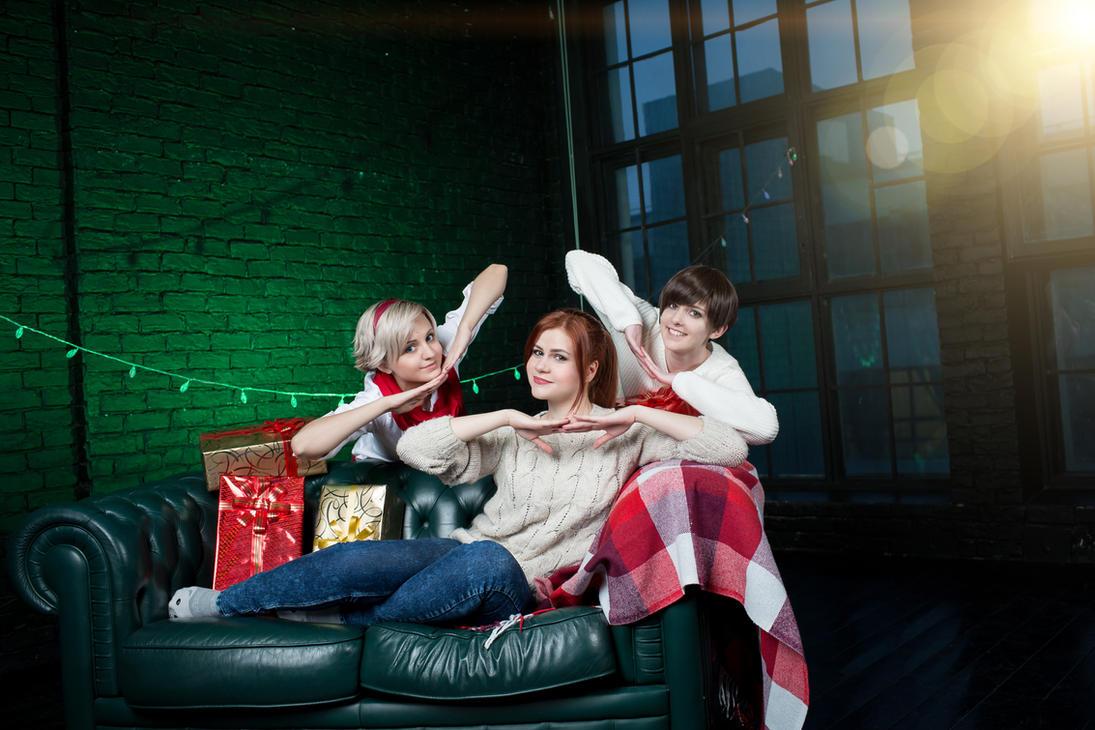 Christmas angels of Resident evil^^ by MaryMellark