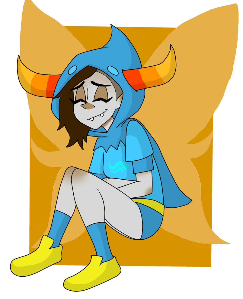 Tavros Fem God Tier by LiETrickSTER
