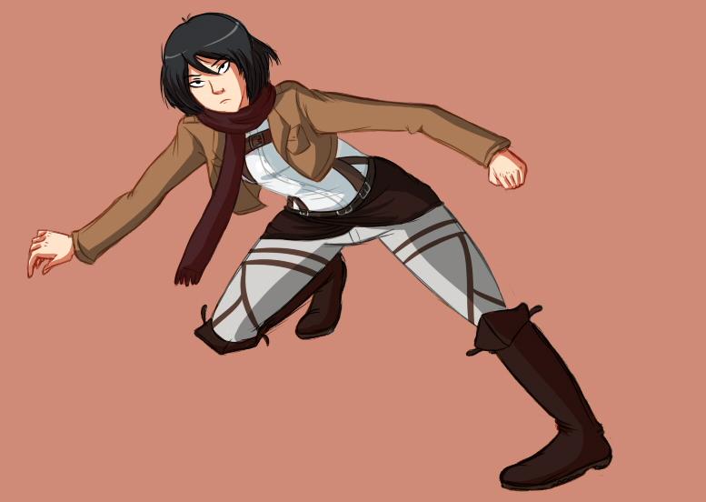 Mikasa by LiETrickSTER