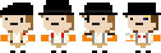 A Clockwork Orange Pixel by GengarGirlCat