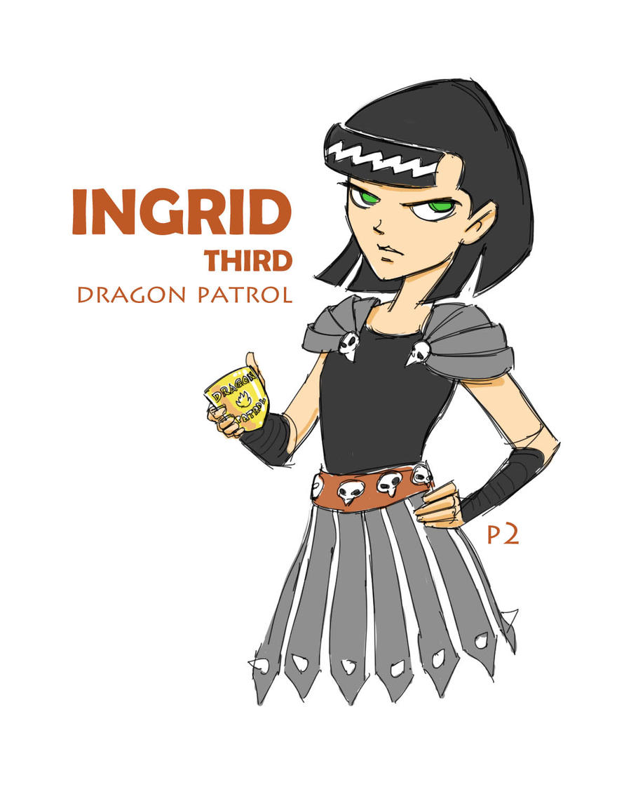 Ingrid Third Dragon Patrol By Adventuresofp2 On Deviantart