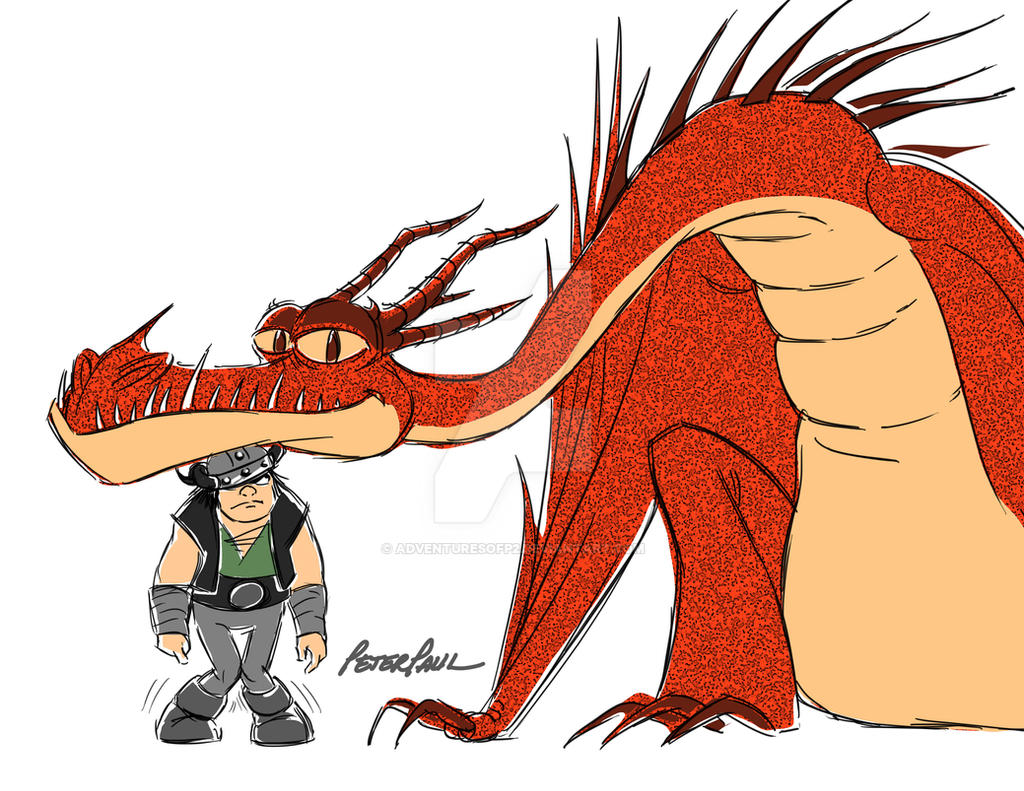 How to train your dragon 2 hookfang and snotlout 81736 movieweb how to train your dragon 2 hookfang and snotlout ccuart Choice Image