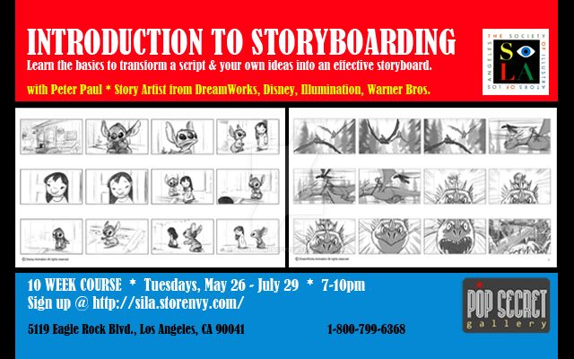 INTRO TO STORYBOARDING by adventuresofp2