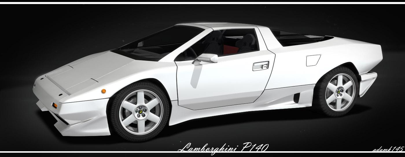 Lamborghini P140 By Adamkop On Deviantart