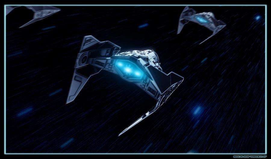 Tie Fighter 3D Concept by AdamKop