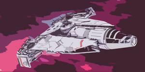 Star Wars Corellian Vessel