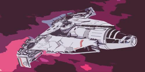 Star Wars Corellian Vessel by AdamKop