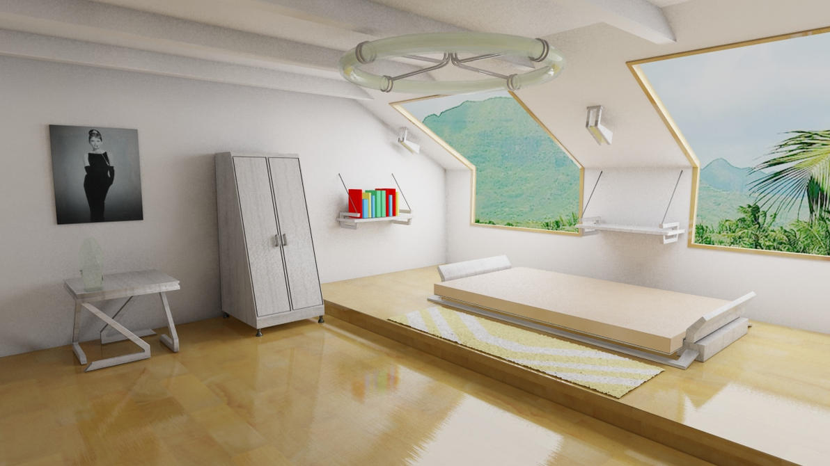 Room Design 3d By Adamkop On Deviantart