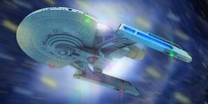 Star Trek Caprica Class 3D by AdamKop