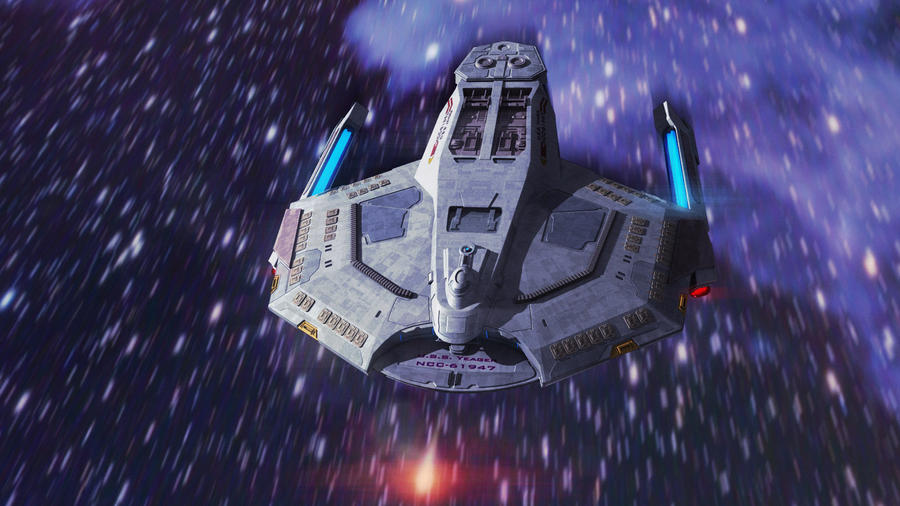 Star Trek Sabre Class by AdamKop