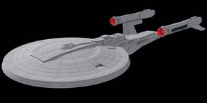Star Trek Monarch Class by AdamKop