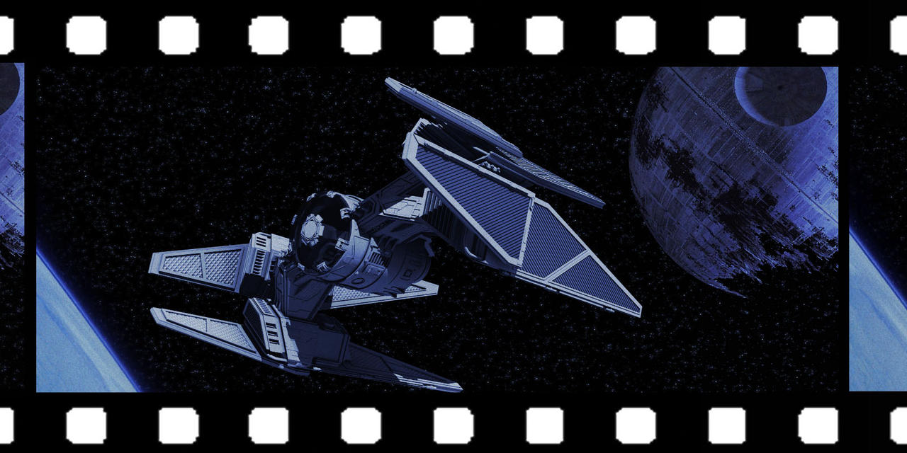 Star Wars Tie Fighter Frame by AdamKop