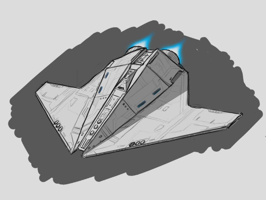 how to draw star wars ships