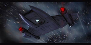 Star Trek MantaRay Class by AdamKop