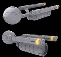 Star Trek Daedalus Class by AdamKop