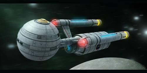Star Trek Deadauls Class by AdamKop