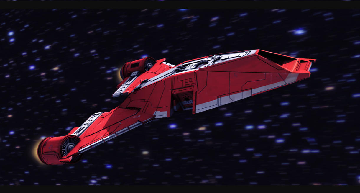 Star Wars Republic Interceptor by AdamKop