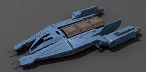 Star Wars Mandalorian Ship 3D