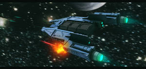 Star Wars Mandalorian Ship