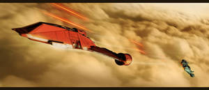 Star Wars Interceptor Battle