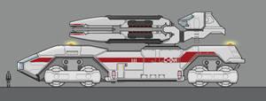 Sci-Fi Mobile Artillery