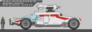Sci Fi Recon Vehicle