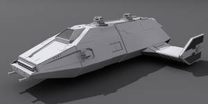 Star Wars Imperial Carrier 3D wip