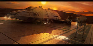 Imperial Tatooine Outpost