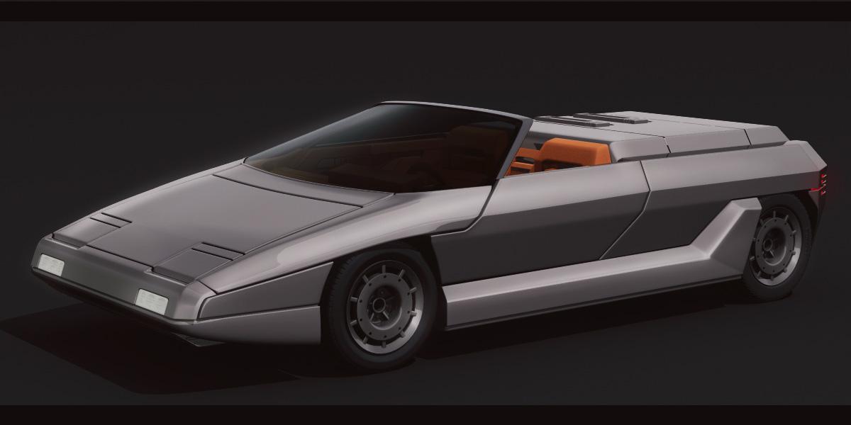 Lamborghini Athon 3D by AdamKop