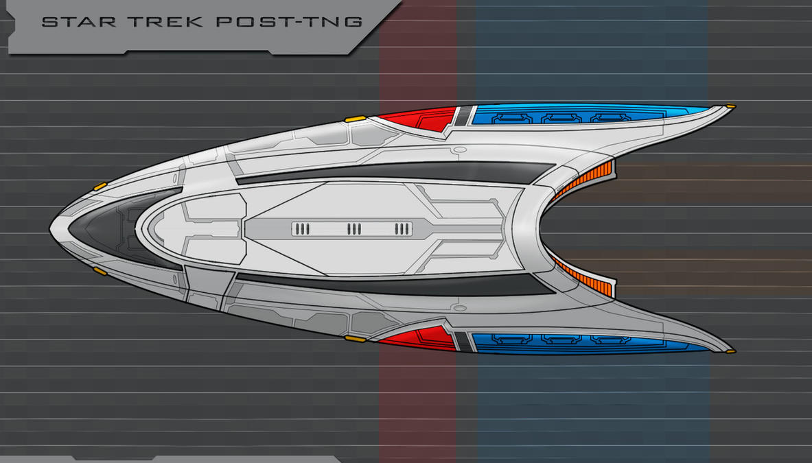 Star Trek Post TNG shuttle finished by AdamKop