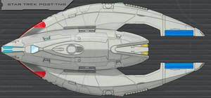 Star Trek Post-TNG Ship Finished